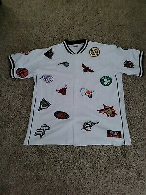 $45 • Buy Majestic NBA All Teams Patches Jersey 2xl Xxl