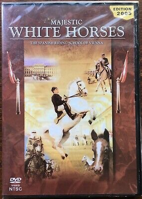 $9.99 • Buy Majestic White Horses(DVD,2005)The Spanish Riding School Of Vienna, Stacy Keach.