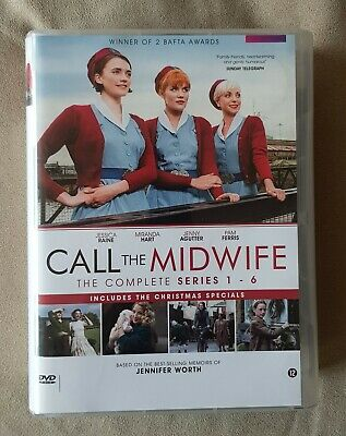 DVD Boxset - Call The Midwife - The Complete Series 1-6 + Christmas Specials • 58.95£