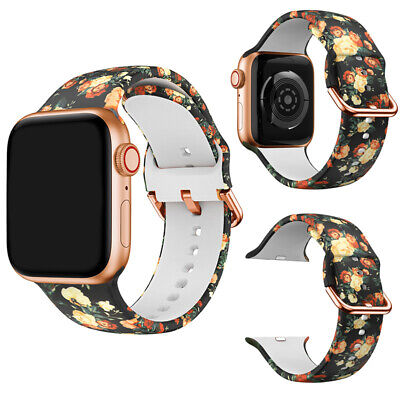 $ CDN8.12 • Buy Comfortable Silicone Wristwatch Straps For Apple Watch Band Series1/2/3/4/5/6
