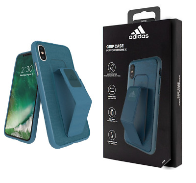 AU9.12 • Buy ADIDAS Grip Band Case Drop Protection Blue Cover For IPhone X / XS - NEW