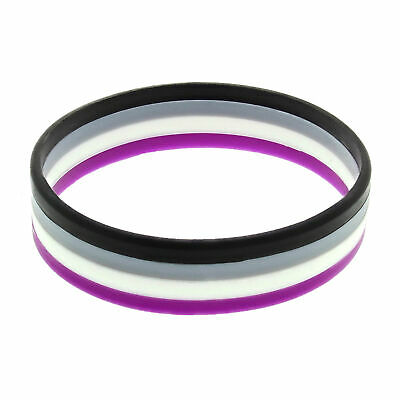 £2.69 • Buy Zac's Alter Ego Asexual Accessories - Flag Bracelet Badge Face Paint Lanyard..