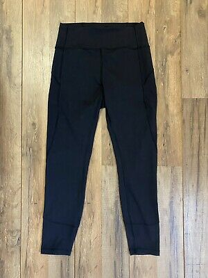 $ CDN62.49 • Buy Lululemon Size 8 - Black Leggings NWOT