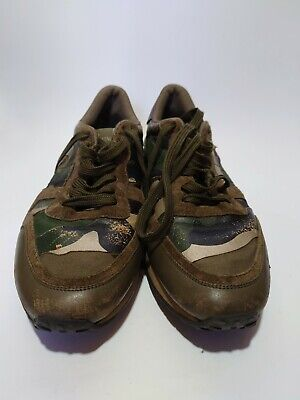 £75 • Buy Valentino Garavani ROCKRUNNER Camouflage Shoes Trainers Sneakers 8 -  Very Worn