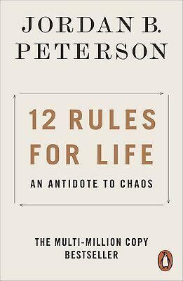 AU14.99 • Buy 12 Rules For Life 2019 By Jordan B. Peterson Paperback Book   FREE SHIPPING.