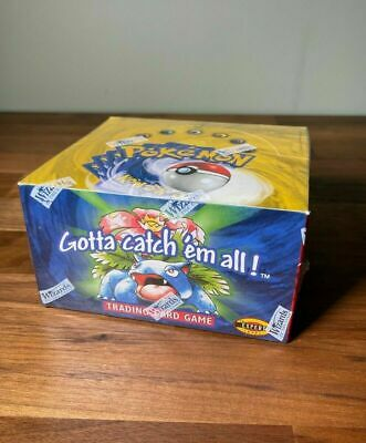 £24495 • Buy Pokemon Cards 1999 Base Set Unlimited Blue Wing Booster Box - Factory Sealed
