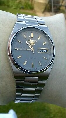 $ CDN8.64 • Buy Seiko 5 Vintage Mens Automatic Watch 6309-9060