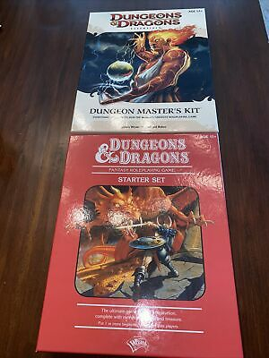 AU64.40 • Buy Dungeons And Dragons Starter Set And Dungeon Master's Kit****See DESCRIPTION****
