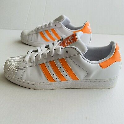$ CDN68.74 • Buy Adidas Superstar Ii (2) Originals White/orange Sneakers Mens Size 10 (g51566)