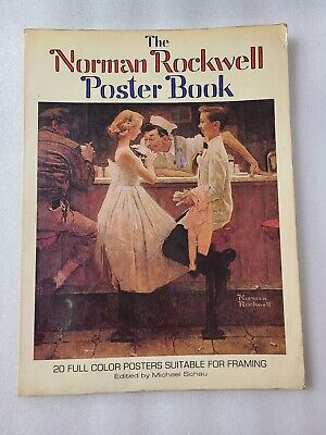 $ CDN11.15 • Buy 1976 Norman Rockwell 20 Color Posters Book, Edited By Michael Schau, 1st Edition