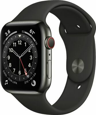 $ CDN912.34 • Buy Apple Watch Series 6 GPS + Cellular, 44mm Graphite Stainless Steel Case (New)