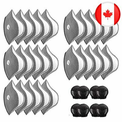 $ CDN35.97 • Buy Activated Carbon Filter For Protective Protective Mouth Filter 25Pcs For Outdoor