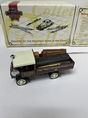 $19.98 • Buy Matchbox Collectibles YAS11-M 1917 Yorkshire Steam Wagon With C.O.A.