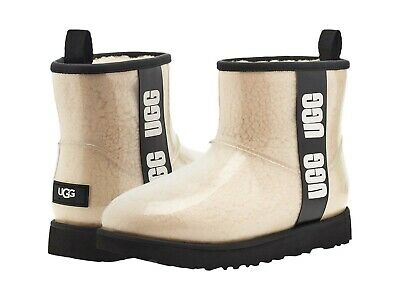 £87.79 • Buy Women's Shoes UGG CLASSIC CLEAR MINI Waterproof Ankle Boots 1113190 NATURAL