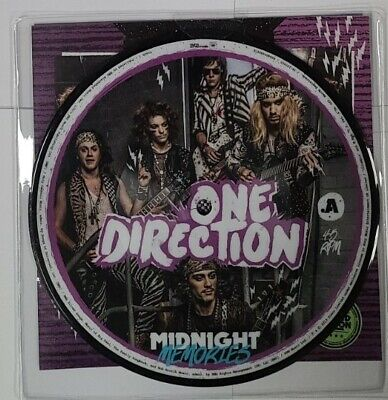 AU25.68 • Buy One Direction – Midnight Memories - 7  Vinyl 45 Rpm Picture Disc - NEW Sealed -