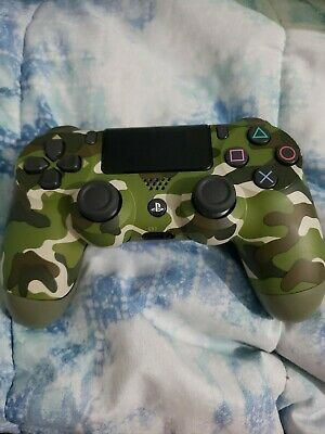 AU51.06 • Buy SONY PLAYSTATION 4 PS4 CUH-ZCT2U WIRELESS Controller 🎮 Green Camo Tested