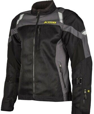 $ CDN425.08 • Buy Klim Induction Dark Gray Mesh D30 Armored Motorcycle Jacket Size M L XL And 2X