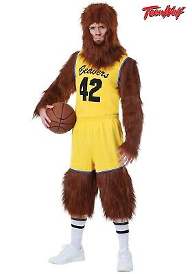 £40.01 • Buy Adult Teen Wolf Basketball Uniform Costume Size L (with Defect)