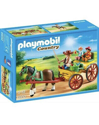 £13 • Buy Playmobil 6932 Country Horse-Drawn Wagon 5-11 BRAND NEW