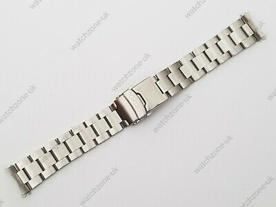 £24.99 • Buy New 20mm Divers Oyster Stainless Steel Watch Strap/bracelet For Seiko (se-29)
