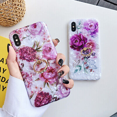 AU10.23 • Buy Ring Stand Case Girls Phone Cover For IPhone 12 Pro Max 11 7 8 Plus XR XS Max