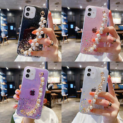 AU8.14 • Buy For IPhone 12 Pro Max 11 XR XS 7 8 Bling Glitter Starry Sky Clear TPU Girls Case
