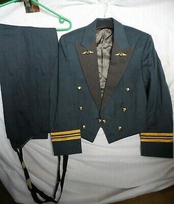 £150 • Buy Genuine British Raf Chaplain Officers Mess Dress Uniform - Jacket And Trousers