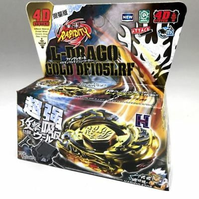 £4.99 • Buy Beyblade Gold L-Drago Destroy 4D System Metal Fusion Master Fight Rapidity Toy
