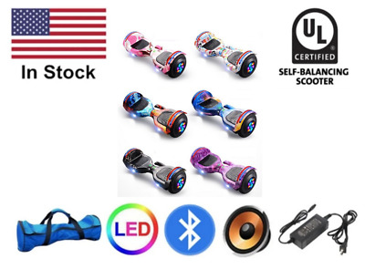 $ CDN146.66 • Buy 6.5 Electric Hoverboard Bluetooth Speaker LED Self Balancing Scooter UL NO Bag