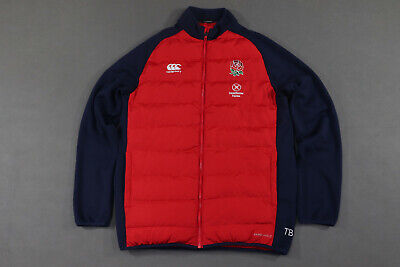 £39.99 • Buy England Padded Rugby Jacket 2015/16 Adults Canterbury Size L