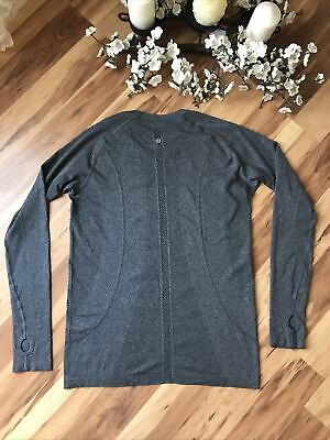 $ CDN64.24 • Buy Lululemon Swiftly Tech Long Sleeve Shirt Crew Gray Women's Size 12
