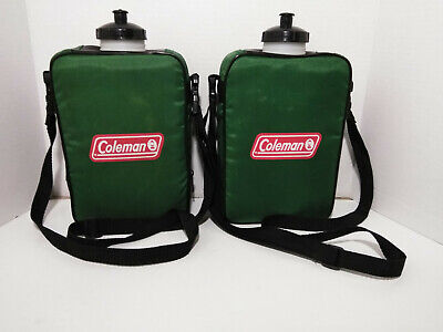 $ CDN24.18 • Buy 2X Coleman 2 Qt. Sport Canteen Hiking / Camping Water Bottle Plastic With Strap