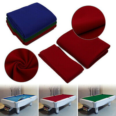 AU39.47 • Buy Billiard Pool Table Cloth Cover Playing 9ft Club Strips Hotel Snooker