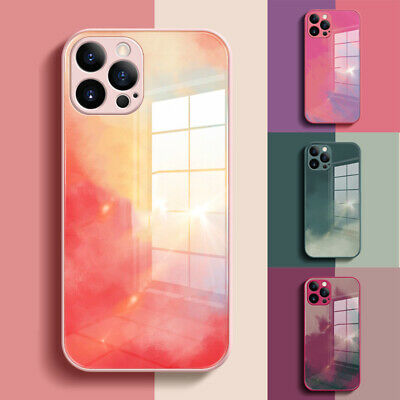 AU9.99 • Buy For IPhone 12/Pro/Max 11 XR XS MAX SE Marble Luxury Tempered Glass Case Cover