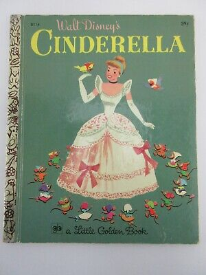 £8.84 • Buy Little Golden Book - Walt Disney's Cinderella 1971