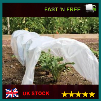 £9.98 • Buy 2Mx10M GARDEN FLEECE PLANT PROTECTION WHITE HORTICULTURAL COVER FROST