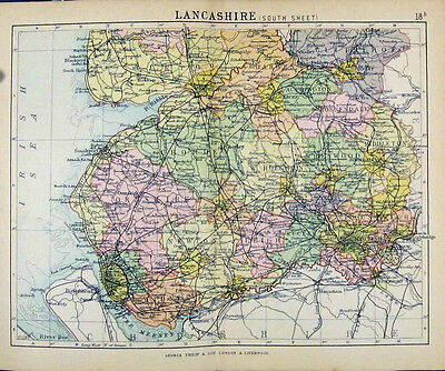 £7.99 • Buy 302 Vintage & Rare Books On Genealogy, Social And General History Of Lancashire