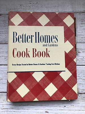 £17.97 • Buy Vintage Better Homes And Gardens Cookbook 1950 1950's Housewife Recipes