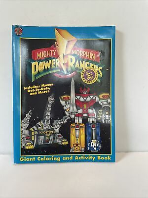 £10.62 • Buy 1994 MIGHTY MORPHIN POWER RANGERS - GIANT COLORING AND ACTIVITY BOOK Some Colors
