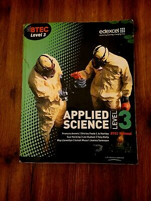 £9.99 • Buy Science Study Guide Edexcel BTEC Level 3 Applied Science Study Skills Guide