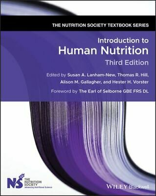 £95.05 • Buy Introduction To Human Nutrition (The Nutrition Society Textbook): 9781119476979: