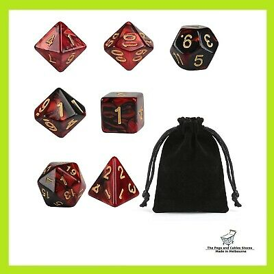 AU10 • Buy Polyhedral Dice Set Dungeons And Dragons Table Game Dice DND 7 Pcs