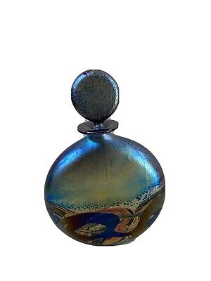 £80 • Buy Isle Of Wight Glass Nightscape Perfume Bottle With Stopper