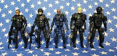 $ CDN212.24 • Buy Lot Of 5 Marauder Task Force Military Action Figures Compatible W G.I. JOE 25th