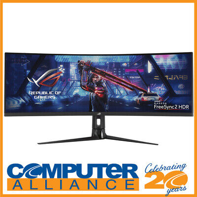AU1149 • Buy 43  ASUS ROG STRIX XG43VQ Super Ultra-Wide FreeSync2 Curved Gaming Monitor With