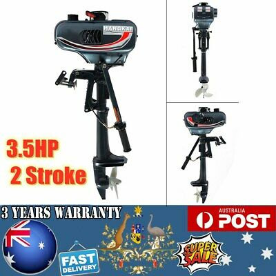 AU318 • Buy HOT!!! 3.5HP 2 Stroke Outboard Motor Engine Fishing Boat W/Water Cooling