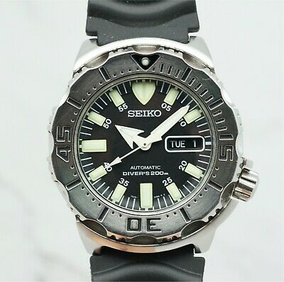 $ CDN375.08 • Buy Seiko Superior SKX779K Black Monster Men's Professional Automatic Diver Watch