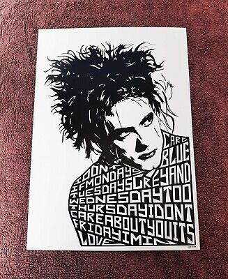 £8.80 • Buy The Cure/Robert Smith/Friday I'm In Love A4 Size Art Print/poster/picture