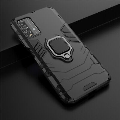 AU6.03 • Buy For Xiaomi Redmi 9T Shockproof Slim Rugged Armor Case Hybrid Ring Stand Cover
