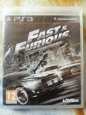 £26.99 • Buy NEW AND SEALED Fast And Furious Showdown PLAYSTATION 3 PS3